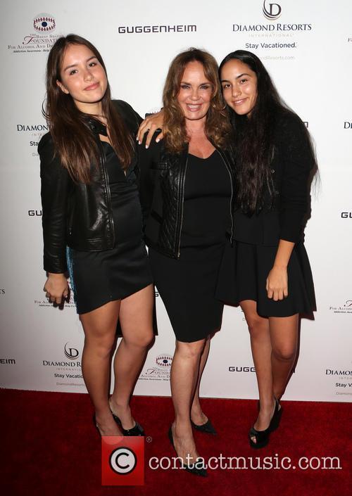 Catherine Bach, Sophia Isabella Lopez and Laura Esmeralda Lopez 3