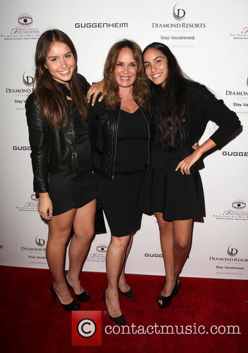 Catherine Bach, Sophia Isabella Lopez and Laura Esmeralda Lopez 4