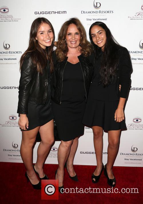Catherine Bach, Sophia Isabella Lopez and Laura Esmeralda Lopez 5