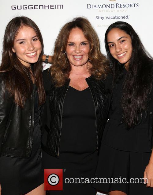 Catherine Bach, Sophia Isabella Lopez and Laura Esmeralda Lopez 6