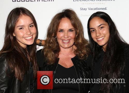 Catherine Bach, Sophia Isabella Lopez and Laura Esmeralda Lopez 7