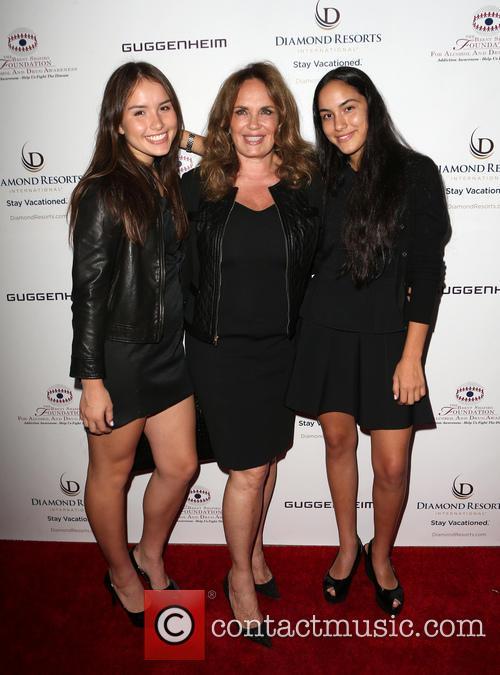 Catherine Bach, Sophia Isabella Lopez and Laura Esmeralda Lopez 8