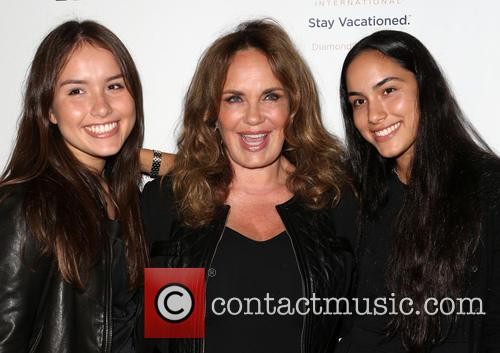 Catherine Bach, Sophia Isabella Lopez and Laura Esmeralda Lopez 9
