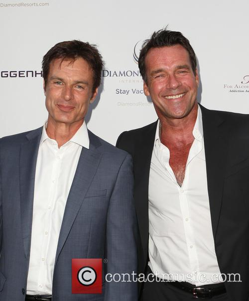 Patrick Muldoon and David James Elliott