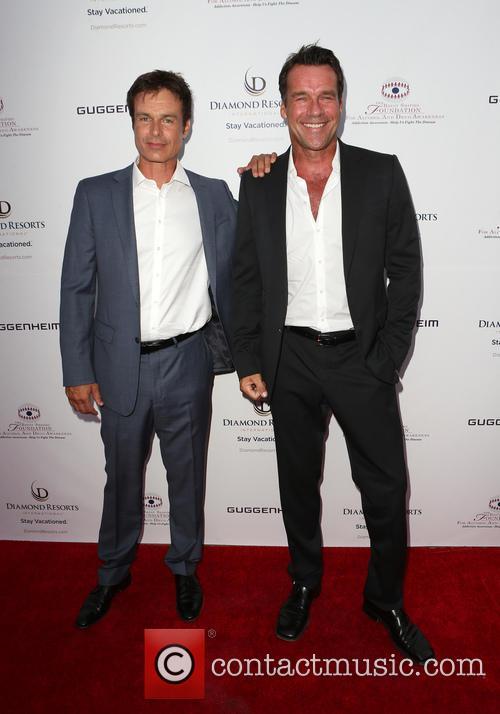 Patrick Muldoon and David James Elliott 1