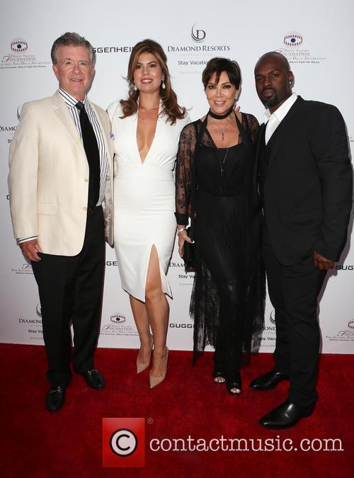Alan Thicke, Tanya Callau, Kris Jenner and Corey Gamble 2