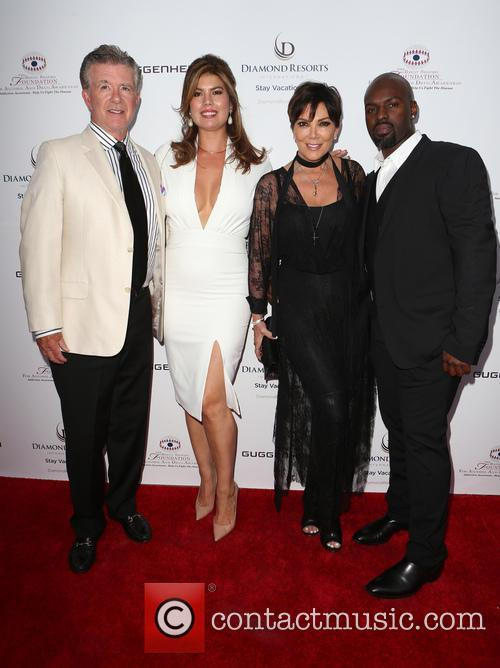 Alan Thicke, Tanya Callau, Kris Jenner and Corey Gamble 3