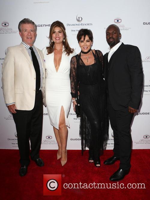 Alan Thicke, Tanya Callau, Kris Jenner and Corey Gamble 4