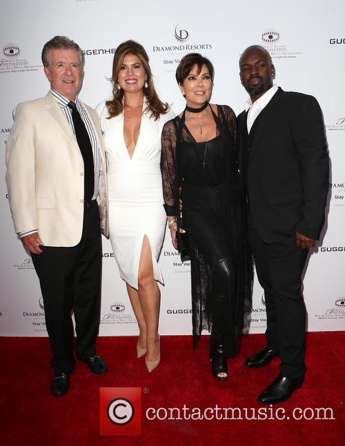 Alan Thicke, Tanya Callau, Kris Jenner and Corey Gamble 5