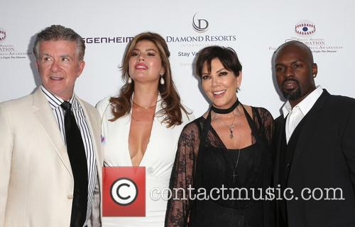 Alan Thicke, Tanya Callau, Kris Jenner and Corey Gamble 6