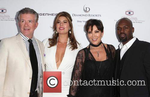 Alan Thicke, Tanya Callau, Kris Jenner and Corey Gamble 7