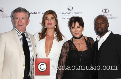 Alan Thicke, Tanya Callau, Kris Jenner and Corey Gamble 1