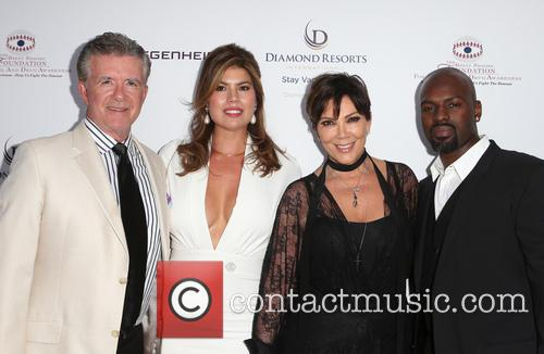 Alan Thicke, Tanya Callau, Kris Jenner and Corey Gamble 8
