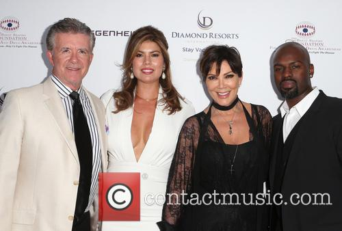 Alan Thicke, Tanya Callau, Kris Jenner and Corey Gamble 9
