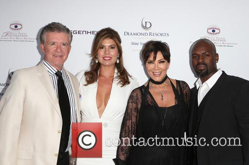 Alan Thicke, Tanya Callau, Kris Jenner and Corey Gamble 10