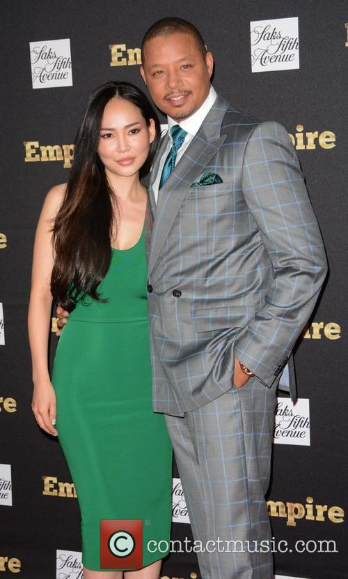 Terrence Howard and Wife 2