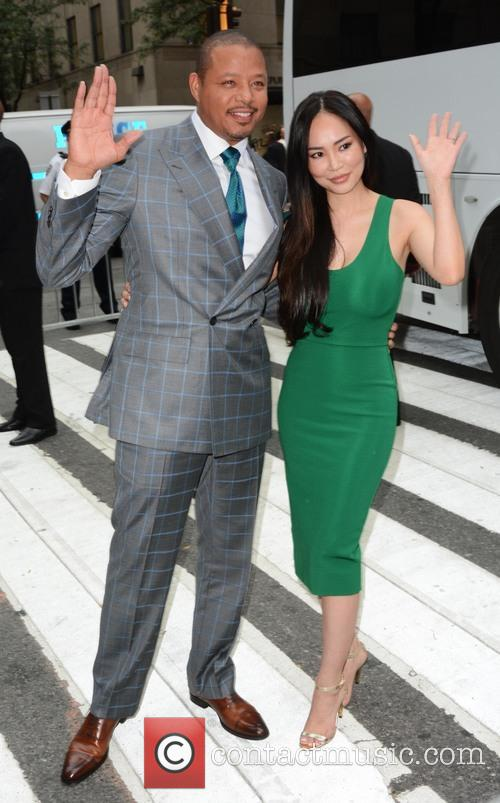 Terrence Howard and Wife 3