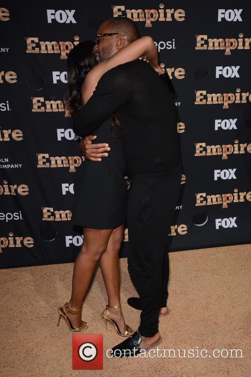 Taraji P. Henson and Lee Daniels 2