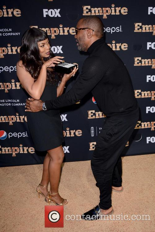 Taraji P. Henson and Lee Daniels 1
