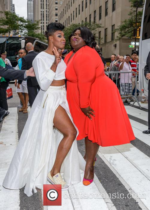 Ta'rhonda Jones and Gabourey Sidibe 1