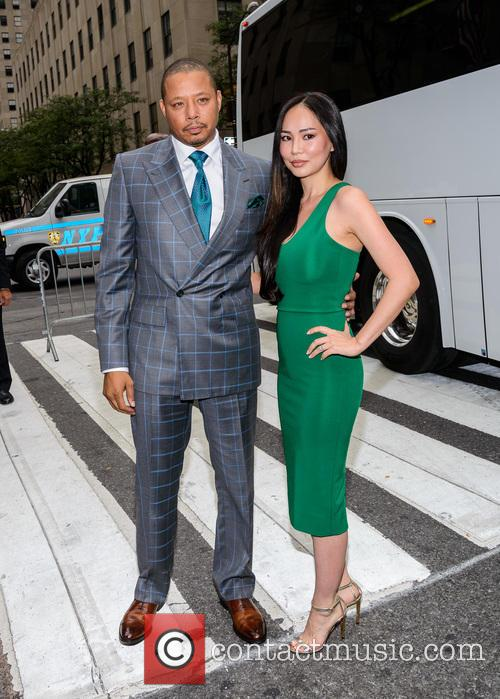 Terrence Howard and Michelle Ghent 3