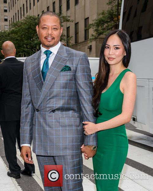 Terrence Howard and Michelle Ghent 5