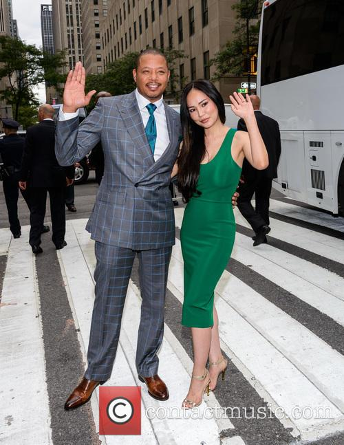 Terrence Howard and Michelle Ghent 6