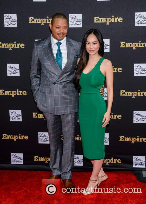Terrence Howard and Michelle Ghent 1