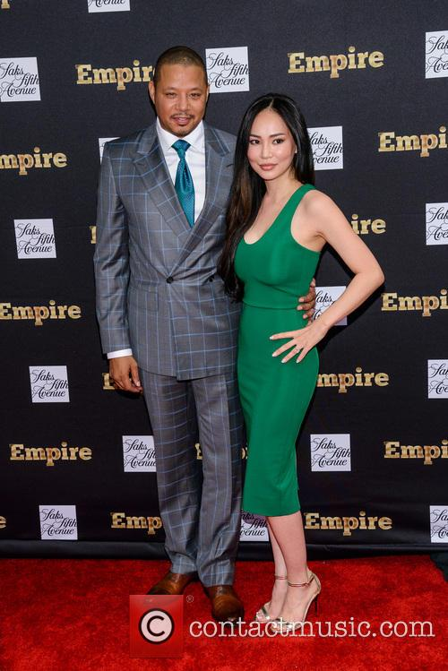 Terrence Howard and Michelle Ghent 7
