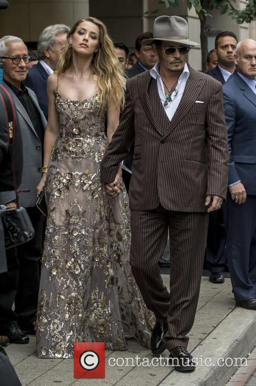 Amber Heard and Johnny Depp 11