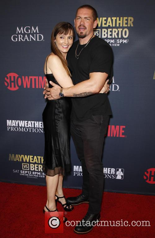 Nancy Pimental and Steve Howey