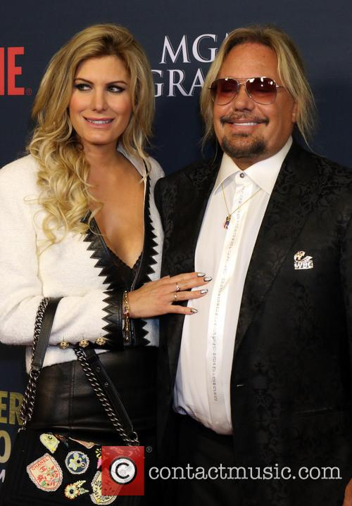 Vince Neil and Rain Andreani 2