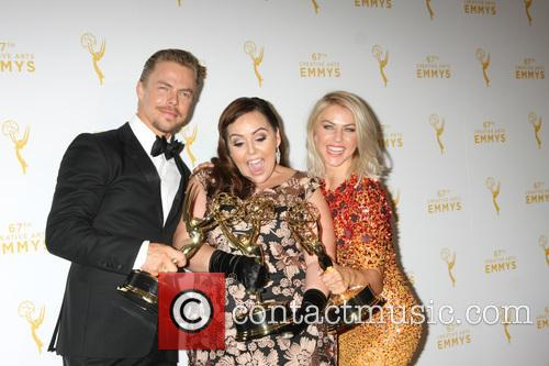 Derek Hough, Tessandra Chavez and Julianne Hough 3