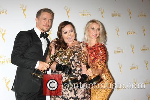 Derek Hough, Tessandra Chavez and Julianne Hough 4