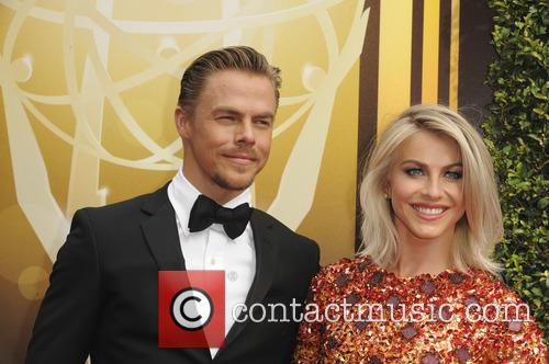 Julianne Hough and Derek Hough 1