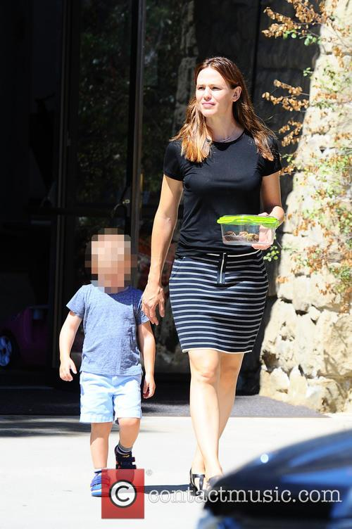 Jennifer Garner and Samuel Garner Affleck 2