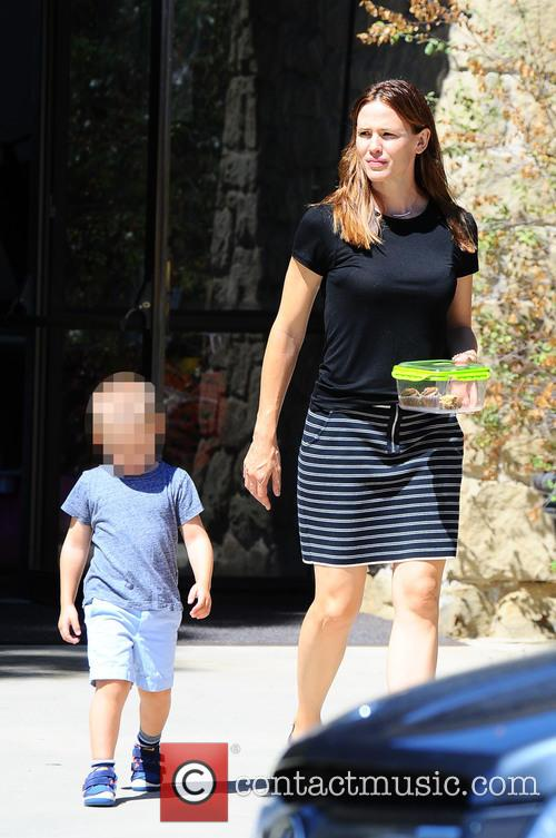 Jennifer Garner and Samuel Garner Affleck 3