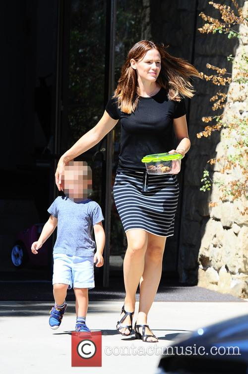 Jennifer Garner and Samuel Garner Affleck 1