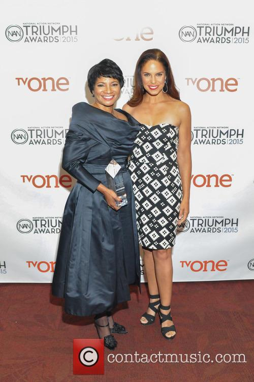 Rosalind Hudnell and Soledad O'brien 1