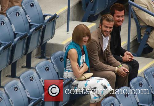David Beckham, Anna Wintour and Simon Fuller 3