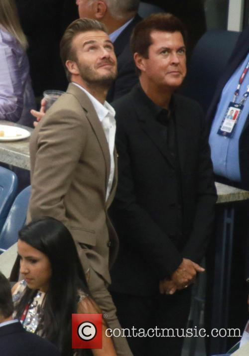 David Beckham and Simon Fuller 2