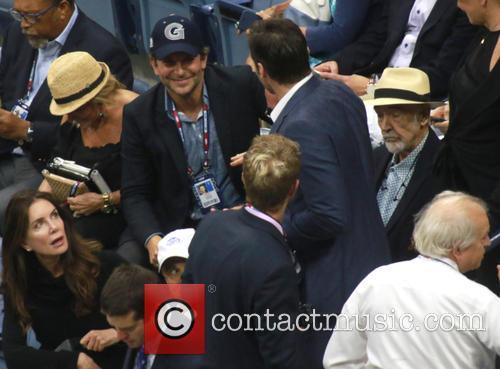 Bradley Cooper, Hugh Jackman, Deborra Lee Furness and Sir Sean Connery 1