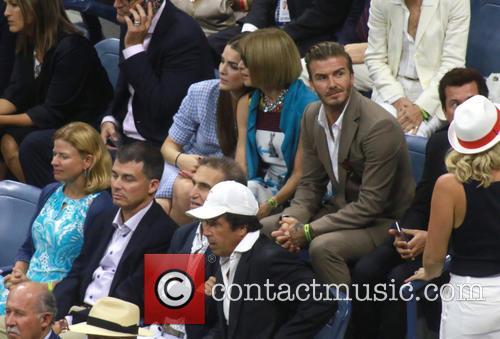 David Beckham and Anna Wintour 1