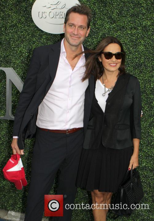 Mariska Hargitay and Peter Herman 1