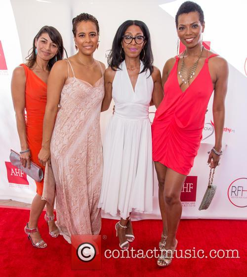 Raven Majia, Daphne Wayans, Robi Reed and Vanessa Williams 2