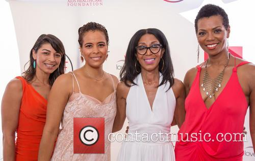Raven Majia, Daphne Wayans, Robi Reed and Vanessa Williams 1