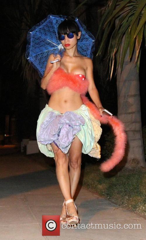 Bai Ling leaves an 'Alice In Wonderland' themed...