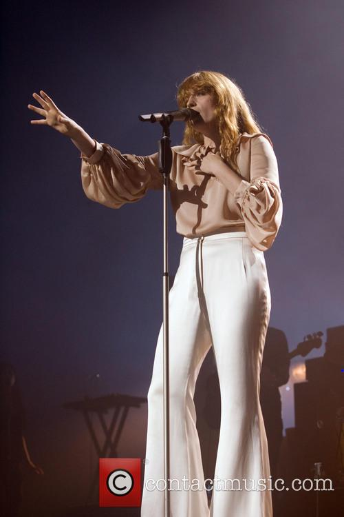 Florence and the Machine performing live