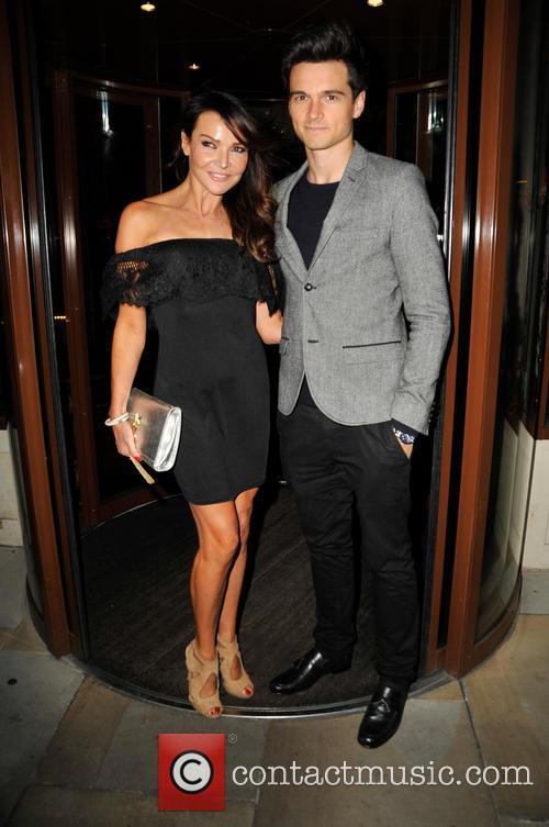 Lizzie Cundy and Son Josh 1