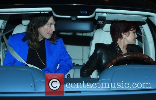 Ozzy Osbourne and Sharon Osbourne 1